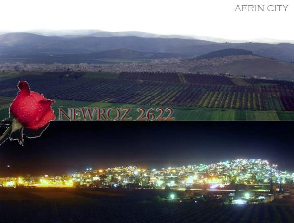 AFRIN - NEWROZ- KURD-DAGH