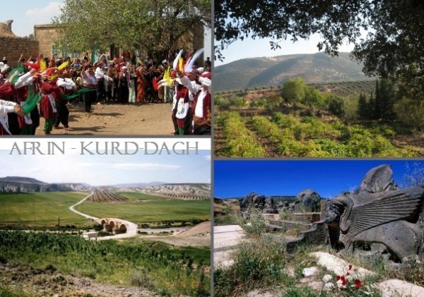 Kurd-Dagh in Syria - Panorama Views
