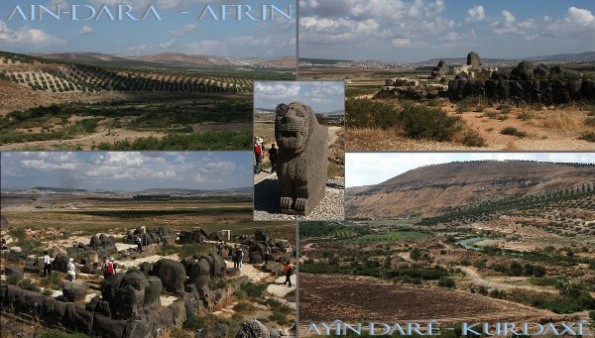 AINDARA - Temple of Hethits at Afrin in Kurd-Dagh